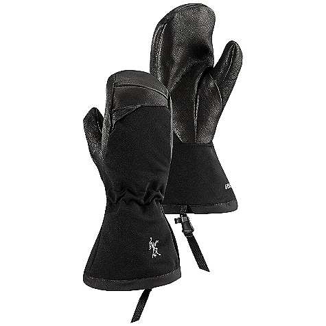 On Sale. Free Shipping. Arcteryx Men's Zenta AR Mitt DECENT FEATURES of the Arcteryx Men's Zenta AR Mitt Burly Double Weave softshell outer mitt with leather palm has Gore-Tex XCR waterproof / breathable liner 400 g Primaloft One insulation provides warmth Softshell fabrics add suppleness to back of hand Mitt friendly, easy pull, one-handed gauntlet drawcords self-adjusting wrist elastic Wide gauntlet slides easily over shell and insulation layers We are not able to ship Arcteryx products outside the US because of that other thing. We are not able to ship Arcteryx products outside the US because of that other thing. We are not able to ship Arcteryx products outside the US because of that other thing. The SPECS Weight: M: 8.6 oz / 243 g Fit: Expedition e3D Gore-Tex XCR technology Leather palm overlay Burly Double Weave softshell on the wrist and back of the hands Polartec Wind Pro mid loft fleece liner This product can only be shipped within the United States. Please don't hate us. - $126.99