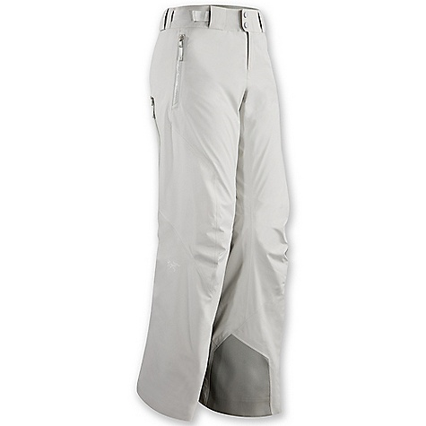 Ski Free Shipping. Arcteryx Women's Moray Pant DECENT FEATURES of the Arcteryx Women's Moray Pant Breathable Insulated Micro-seam allowance (1.6 mm) reduces bulk and weight Tiny GORE seam tape (13 mm) DWR finish (Durable Water Repellent) helps bead water from fabric surface Gore-Tex three-layer construction Articulated knees and seat Front fly with snap closure Two hand pockets with WaterTight zippers Keprotec instep patches provide superior protection against damage by boots, crampons and ski edges Mesh-lined powder guard vents for breathability, designed to prevent snow from entering clothing Powder cuffs with gripper elastic Adjustable integrated webbing belt Belt loops Supple Gore-Tex Pro is waterproof, windproof weather protection Coreloft insulation delivers low profile, radiant warmth Side opening mesh Powder Guard vents prevent snow entry, aid breath ability Hand pockets have plush interior colour matched Keprotec insteps resist cuts and abrasion Recco reflector aids emergency location Activity: Ski/Snowboard We are not able to ship Arcteryx products outside the US because of that other thing. We are not able to ship Arcteryx products outside the US because of that other thing. We are not able to ship Arcteryx products outside the US because of that other thing. The SPECS Weight: (M): 21.7 oz / 618 g Lengths: Regular Fit: Athletic Fabric: N70p Gore-Tex Pro 3L Coreloft 60 insulation (60 g / m2) Coreline lining Keprotec Care Instructions Machine wash in warm water Do not use fabric softener Front load washing machine recommended (use a mesh bag for top loading machines) Tumble dry on low heat Do not iron This product can only be shipped within the United States. Please don't hate us. - $498.95