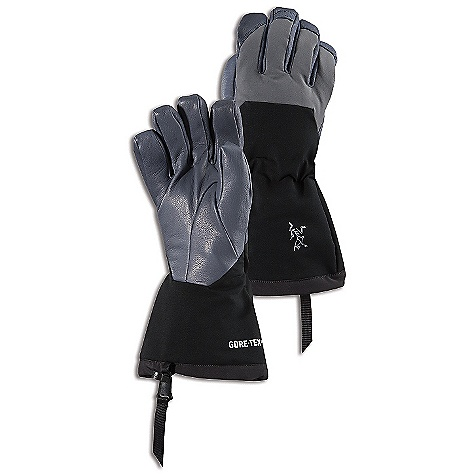On Sale. Free Shipping. Arcteryx Zenta AR Glove DECENT FEATURES of the Arcteryx Zenta AR Glove Waterproof Breathable Insulated DWR finish (Durable Water Repellent) helps bead water from fabric surface Anatomical shaping for fit and comfort One-hand, easy adjust, cuff cinch with webbing pull tab Full, gauntlet-style cuff for increased wrist coverage Adjustable wrist cinch Leather reinforced palm and fingers Clip-in loop to easily attach to a carabiner Wide-entry wrist opening for easy on/off Laminated elastic tunnel on the cuff cinches tight with a tug of the drawcord Seam free fingertips improve dexterity Softshell fabric sections in hand and cuff area for mobility and breathability Activity: All Around We are not able to ship Arcteryx products outside the US because of that other thing. We are not able to ship Arcteryx products outside the US because of that other thing. We are not able to ship Arcteryx products outside the US because of that other thing. The SPECS Weight: (M): 8.5 oz / 240 g Fit: Outerwear Material: Gore-Tex XCR Membrane technology PrimaLoft One 200g Polartec Thermal Pro mid loft Burly double weave Lezanova leather Care Instructions Surface clean only This product can only be shipped within the United States. Please don't hate us. - $128.99