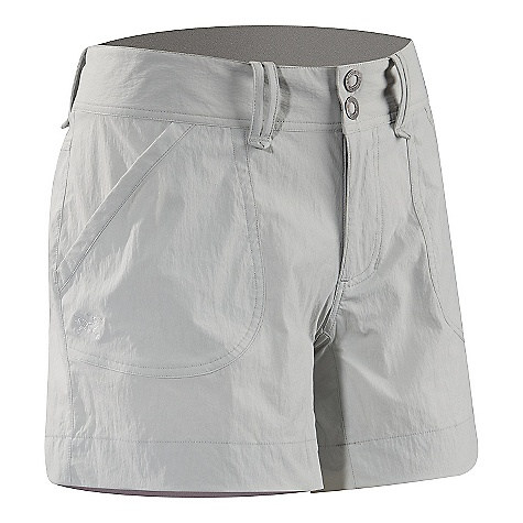 On Sale. Free Shipping. Arcteryx Women's Parapet Short DECENT FEATURES of the Arcteryx Women's Parapet Short Lightweight, durable fabric that wears well Wide waistband with belt loops, two snap closure Hand pockets, back pockets Articulated patterning and gusseted crotch for freedom of movement We are not able to ship Arcteryx products outside the US because of that other thing. We are not able to ship Arcteryx products outside the US because of that other thing. We are not able to ship Arcteryx products outside the US because of that other thing. The SPECS Weight: M: 4.1 oz / 115.8 g Fit: Relaxed Fabric: TerraTex - 94% nylon, 6% spandex This product can only be shipped within the United States. Please don't hate us. - $54.99