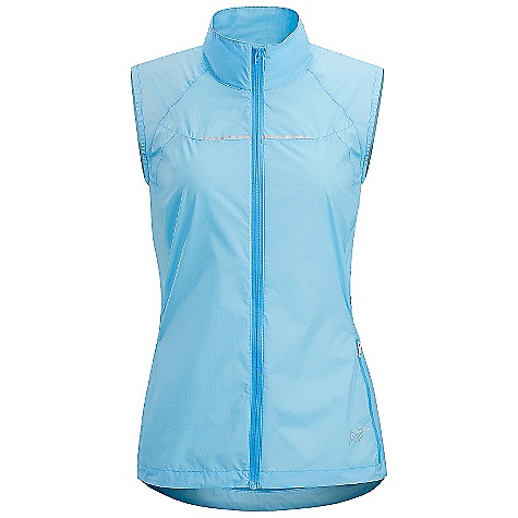 On Sale. Free Shipping. Arcteryx Women's Cita Vest DECENT FEATURES of the Arcteryx Women's Cita Vest Wind-resistant, moisture repellent fabric open mesh back panels for ventilation Zippered security pocket with media pocket and cord passage Stows inside its own pocket on hip Reflective blades on back We are not able to ship Arcteryx products outside the US because of that other thing. We are not able to ship Arcteryx products outside the US because of that other thing. We are not able to ship Arcteryx products outside the US because of that other thing. The SPECS Weight: M: 3.1 oz / 90 g Luminara - 100% nylon Mesh - 100% polyester Fit: Trim This product can only be shipped within the United States. Please don't hate us. - $78.99