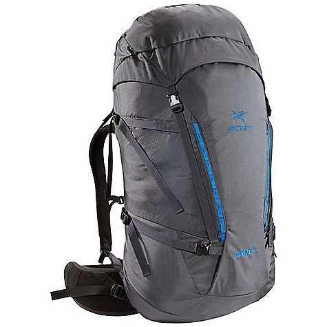 Camp and Hike Free Shipping. Arcteryx Nozone 75 Backpack DECENT FEATURES of the Arcteryx Nozone 75 Backpack C2 (Composite Construction) system Twin 6005-T6 extruded aluminum M-bar stays Top loading with double-pull, easy open collar cordlock system Removable top lid with zippered compartment and key clip Extendable collar and top lid adds additional capacity Dual haul loops permit hauling on route or clipping off at the belays Thermoformed anatomically shaped shoulder straps Adjustable position sternum strap Four compression straps - two on each side Stretch-mesh wand pocket Reinforced high wear areas for greater durability Dual P'ax ice tool carry systems Bungee front attachment system for carrying crampons or stashing layers Skis can be carried in an A-frame configuration Thermoformed hipbelt padding for long-haul comfort We are not able to ship Arcteryx products outside the US because of that other thing. We are not able to ship Arcteryx products outside the US because of that other thing. We are not able to ship Arcteryx products outside the US because of that other thing. The SPECS 210D nylon 6.6 plain weave 420D nylon 6.6 plain weave 100D mini ripstop 6005-T6 extruded aluminum M-bar stays HD 80 foam Burly Double Weave 500D ATY nylon 6.6 silicone treated with PU Hypercell foam Spacermesh The SPECS for Short Volume: 4210 cubic inches / 69 liter Weight: 59 oz / 1681 g Extend To: 4820 cubic inches / 79 liter The SPECS for Regular Volume: 4393 cubic inches / 72 liter Weight: 62 oz / 1750 g Extend To: 5003 cubic inches / 82 liter The SPECS for Tall Volume: 4576 cubic inches / 75 liter Weight: 64 oz / 1818 g Extend To: 5187 cubic inches / 85 liter This product can only be shipped within the United States. Please don't hate us. - $399.95