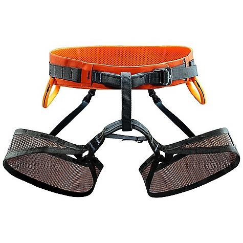Climbing Free Shipping. Arcteryx Men's M270 Harness DECENT FEATURES of the Arcteryx Men's M270 Harness Mesh leg loops, Vapor Mesh leg loops feature buckle-less Sure-Fit LT elasticized connectors Wear safety marker on belay loop and tie-in points Vapor Mesh leg loops Low profile webbing haul / gear loop Two adjustable gear loops Fifteen ice clipper slots Warp Strength Technology 2 Reversible / removable gear loops Non-structural haul loop Drop seat buckles 15 Ice clipper slots Low profile webbing haul / gear loop We are not able to ship Arcteryx products outside the US because of that other thing. We are not able to ship Arcteryx products outside the US because of that other thing. We are not able to ship Arcteryx products outside the US because of that other thing. The SPECS Weight: M: 9.7 oz / 275 g 7075-T6 aluminum anodized buckle Burly Double Weave four-way stretch fabric Vapor Mesh Type 6.6 nylon webbing, polyurethane gear loops Spacermesh ALL CLIMBING SALES ARE FINAL. This product can only be shipped within the United States. Please don't hate us. - $124.95