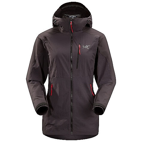 On Sale. Free Shipping. Arcteryx Women's Gamma SL Hybrid Hoody DECENT FEATURES of the Arcteryx Women's Gamma SL Hybrid Hoody Air permeable TerraTex body combined with durable Fortius 1.0 stretch fabric reinforcements Athletic fit maximizes freedom of movement while providing room for three layers Helmet compatible Storm Hood rotates without blocking vision Two laminated hand pockets and one chest pocket Hem drawcords and HemLock removable inserts prevent jacket from slipping out from underneath harness We are not able to ship Arcteryx products outside the US because of that other thing. We are not able to ship Arcteryx products outside the US because of that other thing. We are not able to ship Arcteryx products outside the US because of that other thing. The SPECS Weight: M: 11.5 oz / 326 g Fortius 1.0 - 84% nylon, 16% spandex TerraTex - 94% nylon, 6% spandex Fit: Athletic, hip length This product can only be shipped within the United States. Please don't hate us. - $160.99