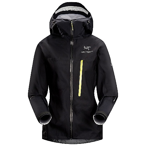 Climbing On Sale. Free Shipping. Arcteryx Women's Alpha FL Jacket DECENT FEATURES of the Arcteryx Women's Alpha FL Jacket Waterproof Highly breathable-maintains comfort during aerobic activity Lightweight Compressible and packable Micro-seam allowance (1.6 mm) reduces bulk and weight Tiny GORE seam tape (13 mm) GORE-TEX three-layer construction Anatomical shaping for fit and comfort Articulated elbows E3D Ergonomic 3-Dimensional patterning for enhanced comfort and mobility Helmet compatible Storm Hood Laminated brim Adjustable hood drawcords WaterTight Vislon front zip Laminated die-cut Velcro cuff adjusters reduce bulk, and won't catch or tear off Drop back hem Adjustable hem drawcord Chest pocket with laminated zip Reinforced high wear areas Reflective blazes for enhanced visibility in low light Gore-Tex Active with reinforced shoulders and elbows Single chest pocket with laminated #3 WaterTight Vislon zipper Helmet compatible Storm Hood 360deg reflective blades Activity: Alpine Climbing / Ice Climbing We are not able to ship Arcteryx products outside the US because of that other thing. We are not able to ship Arcteryx products outside the US because of that other thing. We are not able to ship Arcteryx products outside the US because of that other thing. The SPECS Weight: (M): 9.4 oz / 269 g Fit: Trim with e3D, hip length Fabric: N30p-X Gore-Tex Active 3L N40p-X Gore-Tex Active 3L reinforcement Care Instructions Machine wash in warm water Double rinse Do not use fabric softener Tumble dry on medium heat Do not iron This product can only be shipped within the United States. Please don't hate us. - $278.99