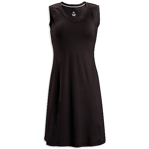 Entertainment Free Shipping. Arcteryx Women's Soltera Dress DECENT FEATURES of the Arcteryx Women's Soltera Dress V-neck sleeveless top Breathable, moisture wicking Haven polyester fabric Cover-stitched seams Security pocket with invisible zipper UPF 50 + We are not able to ship Arcteryx products outside the US because of that other thing. We are not able to ship Arcteryx products outside the US because of that other thing. We are not able to ship Arcteryx products outside the US because of that other thing. The SPECS Weight: M: 6.4 oz / 183 g Fit: Athletic Fabric: Haven - 84% polyester, 16% spandex This product can only be shipped within the United States. Please don't hate us. - $74.95