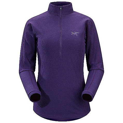 Free Shipping. Arcteryx Women's Delta LT Zip DECENT FEATURES of the Arcteryx Women's Delta LT Zip Polartec Classic 100 micro velour small grid has high warmth-to-weight ratio High collar provides warmth and layers easily 1/2 front zip provides rapid ventilation and works well with other layers, harnesses and packs No-lift gusseted underarms, drop back hem We are not able to ship Arcteryx products outside the US because of that other thing. We are not able to ship Arcteryx products outside the US because of that other thing. We are not able to ship Arcteryx products outside the US because of that other thing. The SPECS Weight: M: 7.4 oz / 210 g Polartec Classic 100 micro velour small grid - 100% polyester Fit: Trim, hip length This product can only be shipped within the United States. Please don't hate us. - $98.95