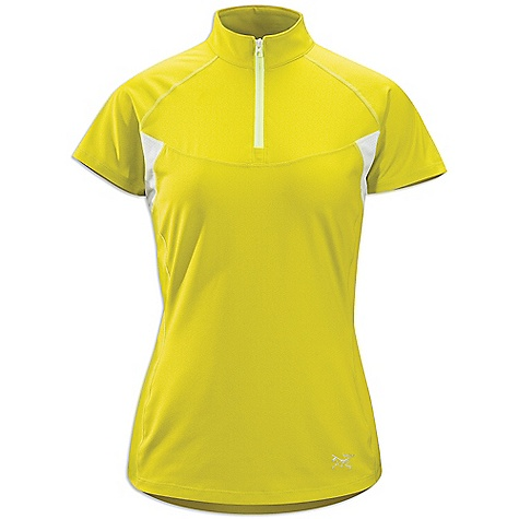 Free Shipping. Arcteryx Women's Kapta Zip SS Shirt DECENT FEATURES of the Arcteryx Women's Kapta Zip Short Sleeve Shirt Smooth outer-face fabric for easy layering Breathable mesh back panel Stretch side panels for enhanced comfort and mobility Standing collar with zip for improved venting Reflective logo UPF 50+ We are not able to ship Arcteryx products outside the US because of that other thing. We are not able to ship Arcteryx products outside the US because of that other thing. We are not able to ship Arcteryx products outside the US because of that other thing. The SPECS Weight: (M): 3.6 oz / 102 g Fit: Athletic fit, waist length Fabric: Crystalis-87% polyester, 13% spandex Libro Mesh-100% polyester This product can only be shipped within the United States. Please don't hate us. - $64.95