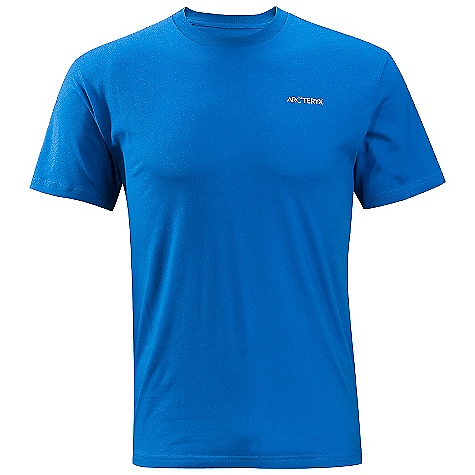 On Sale. Arcteryx Men's Route A T-Shirt DECENT FEATURES of the Arcteryx Men's Route A T-Shirt Breathable Crew neck Short sleeves Screen printed logo Activity: Casual/Urban The SPECS Weight: (M): 5.6 oz / 159 g Material: 100% Cotton Care Instructions Machine wash in warm water Wash dark colors separately Tumble dry on low heat Iron on low heat This product can only be shipped within the United States. Please don't hate us. - $27.99