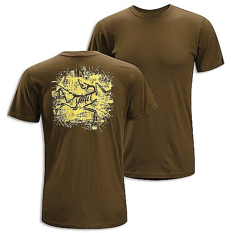 Hunting On Sale. Arcteryx Men's Distressed Bird T-Shirt DECENT FEATURES of the Arcteryx Men's Distressed Bird T-Shirt Breathable Lightweight Crew neck Short sleeves We are not able to ship Arcteryx products outside the US because of that other thing. We are not able to ship Arcteryx products outside the US because of that other thing. The SPECS Weight: (M): 4.3 oz / 121 g Material: 100% Cotton Care Instructions Machine wash in cold water Wash dark colors separately Do not use fabric softener Hang to dry This product can only be shipped within the United States. Please don't hate us. - $26.99