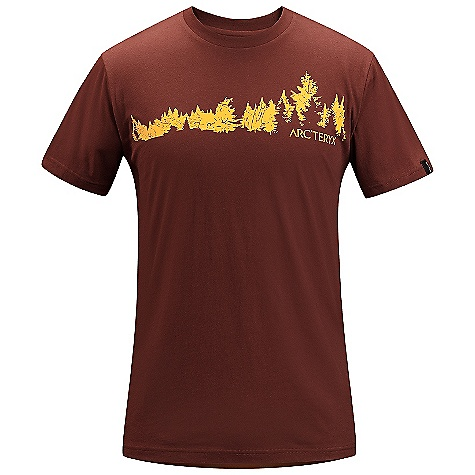 On Sale. Arcteryx Men's Treeline T-Shirt DECENT FEATURES of the Arcteryx Men's Treeline T-Shirt Breathable Lightweight Crew neck Short sleeves We are not able to ship Arcteryx products outside the US because of that other thing. We are not able to ship Arcteryx products outside the US because of that other thing. We are not able to ship Arcteryx products outside the US because of that other thing. The SPECS Fit: Relaxed fit Weight: (M): 4.3 oz / 121 g Material: 100% Cotton Care Instructions Machine wash in cold water Wash dark colors separately Do not use fabric softener Hang to dry This product can only be shipped within the United States. Please don't hate us. - $26.99