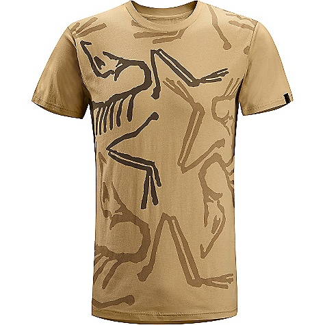 Hunting Arcteryx Men's Front Bird SS Shirt The SPECS Weight: Medium: 4.3 oz / 121 g Fabric: 100% Cotton, short sleeved T-shirt with illustrated graphic We are not able to ship Arcteryx products outside the US because of that other thing. We are not able to ship Arcteryx products outside the US because of that other thing. We are not able to ship Arcteryx products outside the US because of that other thing. This product can only be shipped within the United States. Please don't hate us. - $34.95