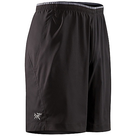 Fitness Free Shipping. Arcteryx Men's Incendo Long Short DECENT FEATURES of the Arcteryx Men's Incendo Long Short Super lightweight fabric Moisture-wicking Breathable Lightweight Quick-drying Wrinkle-resistant Flatlocked seams lie flat for added comfort Articulated patterning for unrestricted mobility Rear pocket with invisible zip located at mid-back Laminated hem Elasticized waist Waist drawcord Reflective logo Drawstring waist inside knit lined elasticized waistband provides secure, comfortable fit Zippered security pocket at back hem Heat transfer reflective bird logo We are not able to ship Arcteryx products outside the US because of that other thing. We are not able to ship Arcteryx products outside the US because of that other thing. We are not able to ship Arcteryx products outside the US because of that other thing. The SPECS Weight: Medium: 3.4 oz / 97 g Inseam: 9in. / 23 cm Fit: Relaxed fit Materials: Invigor LT-100% polyester weave with mechanical stretch Style: Pants/Shorts Light/Athletic Activity: Endorphin/Fitness / Hiking / Running This product can only be shipped within the United States. Please don't hate us. - $68.95