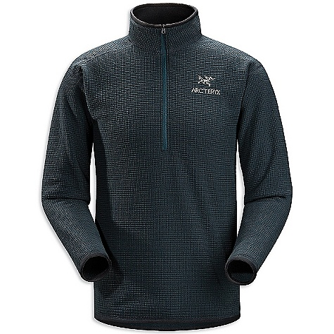 Free Shipping. Arcteryx Men's Delta AR Zip FEATURES of the Arcteryx Men's Delta AR Zip Polartec Thermal Pro High Loft Grid provides good warmth-to-weight High collar provides warmth and layers easily 1/2 zip provides rapid ventilation and works well with other layers, harnesses and packs Trim fit aids moisture transfer from inner to outer layers - $135.00