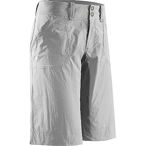 On Sale. Free Shipping. Arcteryx Women's Parapet Long Short DECENT FEATURES of the Arcteryx Women's Parapet Long Short Breathable, lightweight, quick-drying TerraTex fabric Wide hem, gusseted crotch Two snap closures Two hand pockets, two back pockets We are not able to ship Arcteryx products outside the US because of that other thing. We are not able to ship Arcteryx products outside the US because of that other thing. We are not able to ship Arcteryx products outside the US because of that other thing. The SPECS Weight: 5.5 oz / 156 g Inseam: 13in. / 33 cm Fit: Relaxed fit Fabric: TerraTex-94% nylon, 6% spandex This product can only be shipped within the United States. Please don't hate us. - $52.99