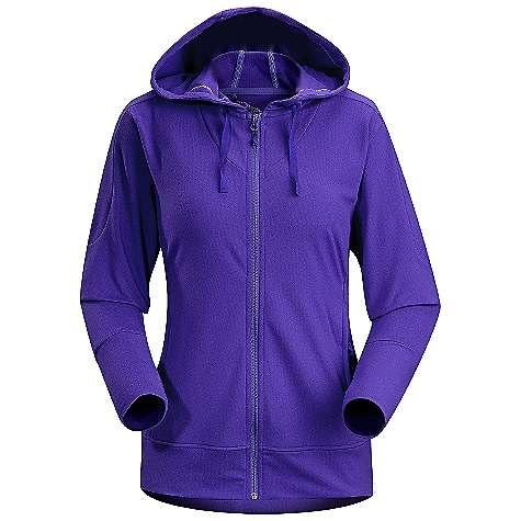 Fitness On Sale. Free Shipping. Arcteryx Women's Solita Hoody DECENT FEATURES of the Arcteryx Women's Solita Hoody Made of moisture-wicking, breathable, Light weight and quick-drying fabric Secure MP3/key pocket with zip Long sleeves have thumb-loops to cover back of hands in cool weather Full front zip Front zippered hand pockets Stretch fabric provides freedom of movement Hood and draw cord Relaxed hood UPF Rating: 50+ Activity: Training/Fitness / Running / Hiking We are not able to ship Arcteryx products outside the US because of that other thing. We are not able to ship Arcteryx products outside the US because of that other thing. We are not able to ship Arcteryx products outside the US because of that other thing. The SPECS Weight: (M): 10.6 oz / 301 g Fit: Trim, hip length Fabric: Rentex Power flex-90% polyester, 10% spandex Care Instructions Machine wash in warm water Do not use fabric softener Tumble dry on medium heat Do not iron This product can only be shipped within the United States. Please don't hate us. - $112.99