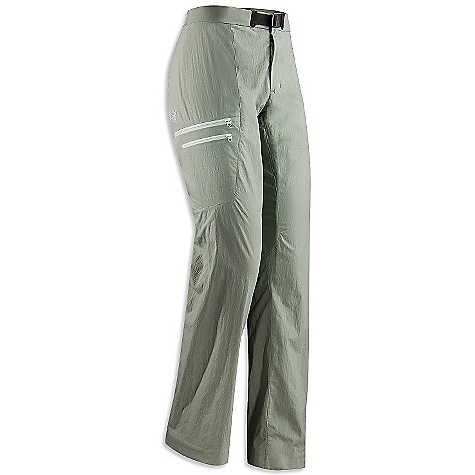 On Sale. Free Shipping. Arcteryx Women's Palisade Pant DECENT FEATURES of the Arcteryx Women's Palisade Pant Made of lightweight, breathable, quick-drying TerraTex fabric Brushed polyester waistband prevents chafing Articulated patterning with gusseted crotch for freedom of movement Slash hand pockets, two cargo pockets with laminated zippers and volume pleats The SPECS Weight: M: 9.5 oz / 268 g Fit: Athletic Fabric: TerraTex - 94% nylon, 6% spandex This product can only be shipped within the United States. Please don't hate us. - $79.99
