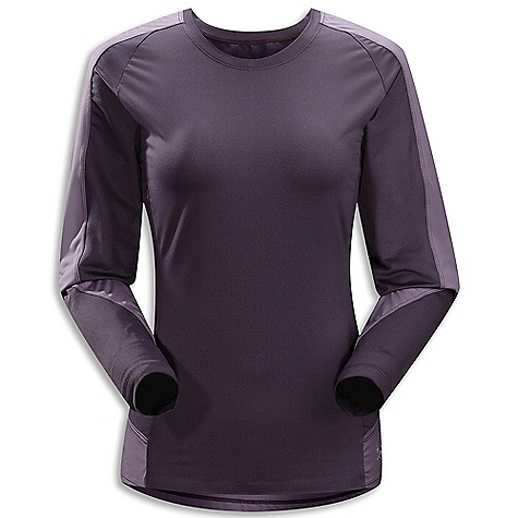 Free Shipping. Arcteryx Women's Mentum Comp Long Sleeve Shirt DECENT FEATURES of the Arcteryx Women's Mentum Comp Long Sleeve Shirt Soft, comfortable next-to-skin with good stretch characteristics Crystalis fabric is used through main body Durable yet soft Helius fabric is used in high wear areas Anatomical shaping for fit and comfort UPF 50+ We are not able to ship Arcteryx products outside the US because of that other thing. We are not able to ship Arcteryx products outside the US because of that other thing. We are not able to ship Arcteryx products outside the US because of that other thing. The SPECS Weight: M: 5.1 oz / 145 g Crystalis - 87% polyester, 13% spandex Helius - 100% polyester Fit: Athletic, hip length This product can only be shipped within the United States. Please don't hate us. - $78.95