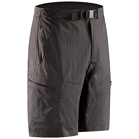 Free Shipping. Arcteryx Men's Palisade Short DECENT FEATURES of the Arcteryx Men's Palisade Short Made of lightweight, breathable, quick-drying TerraTex fabric Brushed polyester waistband prevents chafing Articulated patterning with gusseted crotch for freedom of movement Slash hand pockets, two cargo pockets with laminated zipper and volume pleats We are not able to ship Arcteryx products outside the US because of that other thing. The SPECS Athletic fit Fabrics: TerraTex -94% nylon, 6% spandex 205 g / 7.2 oz (32) Inseam: 25.4 cm / 10 in This product can only be shipped within the United States. Please don't hate us. - $108.95
