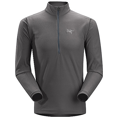 Free Shipping. Arcteryx Men's Delta LT Zip DECENT FEATURES of the Arcteryx Men's Delta LT Zip Polartec Classic 100 micro velour small grid has high warmth-to-weight ratio High collar provides warmth and layers easily 1/2 front zip with chin guard provides rapid ventilation and works well with other layers, harnesses and packs No-lift gusseted underarms, drop back hem We are not able to ship Arcteryx products outside the US because of that other thing. We are not able to ship Arcteryx products outside the US because of that other thing. We are not able to ship Arcteryx products outside the US because of that other thing. The SPECS Weight: M: 9.5 oz / 270 g Fit: Trim Polartec Classic 100 micro velour small grid - 100% polyester This product can only be shipped within the United States. Please don't hate us. - $98.95