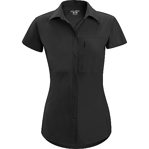 On Sale. Free Shipping. Arcteryx Women's Libere Comp Cap Sleeve DECENT FEATURES of the Arcteryx Women's Libere Comp Cap Sleeve Short capped-sleeve Phasic Sleeve Long underarm panel for moisture management Six-snap button placket front Zippered chest pocket Shaped, laminated hem UPF 35 + We are not able to ship Arcteryx products outside the US because of that other thing. We are not able to ship Arcteryx products outside the US because of that other thing. We are not able to ship Arcteryx products outside the US because of that other thing. The SPECS Weight: (M): 4 oz / 103 g Fit: Athletic fit Fabric: Invigor LT-100% polyester Phasic SL-70% polyester, 30% polypropylene This product can only be shipped within the United States. Please don't hate us. - $69.99