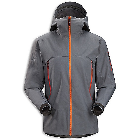 On Sale. Free Shipping. Arcteryx Men's Sabre Jacket DECENT FEATURES of the Arcteryx Men's Sabre Jacket Waterproof/breathable Gore-Tex with lightly insulated backer WaterTight Vislon front zip WaterTight pit zippers for ventilation Full protection Storm Hood fits over helmet and is designed to rotate with your head Hand pockets, internal mesh dump pocket, sleeve pocket Powder skirt with Slide 'n Loc attachment We are not able to ship Arcteryx products outside the US because of that other thing. We are not able to ship Arcteryx products outside the US because of that other thing. We are not able to ship Arcteryx products outside the US because of that other thing. The SPECS Weight: M: 20.4 oz / 665 g Fit: Relaxed N80p-x Gore-Tex fabric with 3L lo-loft Soft shell construction This product can only be shipped within the United States. Please don't hate us. - $392.99