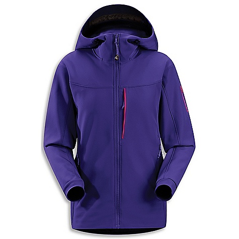 Climbing Free Shipping. Arcteryx Women's Gamma MX Hoody DECENT FEATURES of the Arcteryx Women's Gamma MX Hoody Two hand pockets, one chest pocket and laminated sleeve pocket Articulated patterning, and gusseted underarms enhance mobility Long torso length, articulated patterning and gusseted underarms for freedom of movement (hoody) Helmet compatible Storm Hood (hoody) Moisture-resistant outer face fabric Snow-shedding Breathable Lightly insulated Durable Wind resistant DWR finish (Durable Water Repellent) helps bead water from fabric surface Anatomical shaping for fit and comfort Articulated elbows No-lift gusseted underarms Adjustable hood drawcords Soft brushed-lined collar Full front zip with wind flap Corded zipper-pulls reduce noise and are easy to grab Stretch-woven cuffs Drop back hem Laminated hem Adjustable hem drawcord Laminated sleeve pocket with laminated zip Activity: Alpine Climbing We are not able to ship Arcteryx products outside the US because of that other thing. We are not able to ship Arcteryx products outside the US because of that other thing. We are not able to ship Arcteryx products outside the US because of that other thing. The SPECS Weight: (M): 20.4 oz / 581 g Fit: Athletic with e3D, hip length Fabric: Fortius 2.0-53% polyester, 27% nylon, 20% spandex Care Instructions Machine wash in cold water Wash dark colors separately Tumble dry on low heat Iron on low heat Do not use fabric softener This product can only be shipped within the United States. Please don't hate us. - $349.95