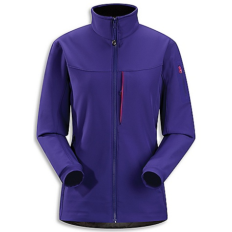 Climbing Free Shipping. Arcteryx Women's Gamma MX Jacket DECENT FEATURES of the Arcteryx Women's Gamma MX Jacket Two hand pockets, one chest pocket and laminated sleeve pocket Articulated patterning, and gusseted underarms enhance mobility Long torso length, articulated patterning and gusseted underarms for freedom of movement (hoody) Helmet compatible Storm Hood (hoody) DWR finish Moisture-resistant outer face fabric Snow-shedding Breathable Lightly insulated Durable Wind resistant DWR finish (Durable Water Repellent) helps bead water from fabric surface Anatomical shaping for fit and comfort Articulated elbows No-lift gusseted underarms Soft brushed-lined collar Molded zipper garages Full front zip with wind flap Corded zipper-pulls reduce noise and are easy to grab Stretch-woven cuffs Drop back hem Laminated hem Adjustable hem drawcord Laminated sleeve pocket with laminated zip Activity: Alpine Climbing We are not able to ship Arcteryx products outside the US because of that other thing. We are not able to ship Arcteryx products outside the US because of that other thing. We are not able to ship Arcteryx products outside the US because of that other thing. The SPECS Weight: (M): 17 oz / 488 g Fit: Athletic with e3D, hip length Fabric: Fortius 2.0-53% polyester, 27% nylon, 20% spandex Care Instructions Machine wash in cold water Wash dark colors separately Tumble dry on low heat Iron on low heat Do not use fabric softener This product can only be shipped within the United States. Please don't hate us. - $298.95