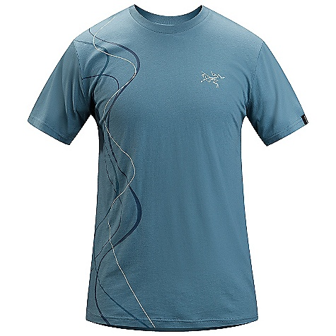 Arcteryx Men's Tracks SS T Shirt DECENT FEATURES of the Arcteryx Men's Tracks Short Sleeve T Shirt Breathable Lightweight Crew neck Short sleeves We are not able to ship Arcteryx products outside the US because of that other thing. We are not able to ship Arcteryx products outside the US because of that other thing. The SPECS Fit: Relaxed fit, Waist length Weight: (M): 4.3 oz / 121 g Material: 100% Cotton Care Instructions Machine wash in cold water Wash dark colors separately Do not use fabric softener Hang to dry This product can only be shipped within the United States. Please don't hate us. - $38.95