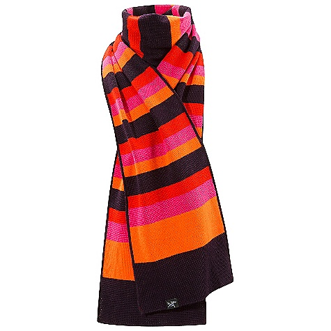 Entertainment Arcteryx Stroyer Stripe Scarf The SPECS Weight: 5.1 oz / 146 g 50% wool 50% acrylic We are not able to ship Arcteryx products outside the US because of that other thing. We are not able to ship Arcteryx products outside the US because of that other thing. We are not able to ship Arcteryx products outside the US because of that other thing. This product can only be shipped within the United States. Please don't hate us. - $48.95