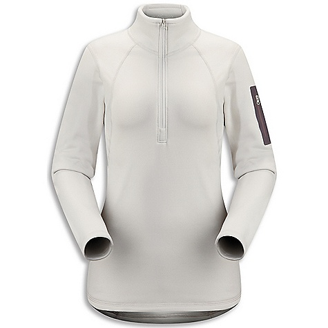 Free Shipping. Arcteryx Women's RHO AR Zip Neck DECENT FEATURES of the Arcteryx Women's RHO AR Zip Neck Mid-weight moisture wicking fabric has great warmth-to-weight ratio Trim fit aids thermal efficiency and rapid moisture transfer Flat locked seams improve next-to-skin comfort Zip neck opens to aid rapid temperature regulation Laminated sleeve pocket with laminated zipper We are not able to ship Arcteryx products outside the US because of that other thing. We are not able to ship Arcteryx products outside the US because of that other thing. We are not able to ship Arcteryx products outside the US because of that other thing. The SPECS Weight: M: 8.2 oz / 233 g Polartec Power Stretch - 88% polyester, 12% spandex Fit: Next-to-skin This product can only be shipped within the United States. Please don't hate us. - $138.95