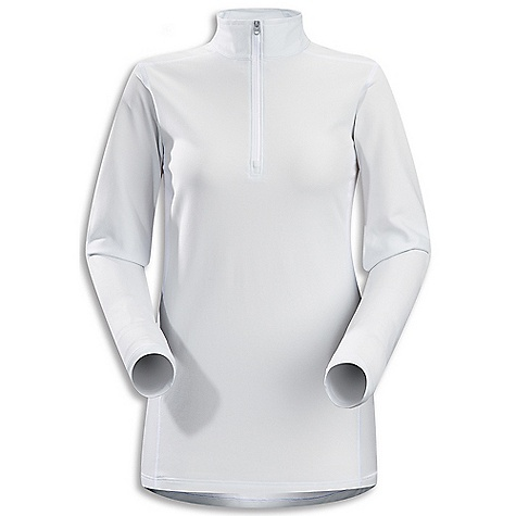"Free Shipping. Arcteryx Women's Phase AR LS Zip Neck DECENT FEATURES of the Arcteryx Women's Phase AR Long Sleeve Zip Neck Moisture-wicking Breathable Lightweight Quick-drying Minimal odor retention odor-control fabric treatment Hydrophobic materials will not absorb water Mechanical stretch textile for unrestricted mobility ""fabric is inherently stretchy without the use of Spandex fibres, making it more durable Anatomical shaping for fit and comfort Gusseted underarms Laminated chin guard Quick-pull 1/2 length zip for easy venting Non-chafing label Phasic fabric has soft touch Composite construction reduces bulk, improves thermal regulation Flatlocked seams improve next-to-skin comfort Encapsulated silver ions reduce odors UPF 50 Activity: All Around We are not able to ship Arcteryx products outside the US because of that other thing. We are not able to ship Arcteryx products outside the US because of that other thing. We are not able to ship Arcteryx products outside the US because of that other thing. The SPECS Fit: Next-to-skin Weight: (M): 5 oz / 144 g Fabric: Phasic AR (body), Phasic SL (underarm) Care Instructions Machine wash in cold water Hang to dry Do not use fabric softener Do not iron This product can only be shipped within the United States. Please don't hate us. - $78.95"