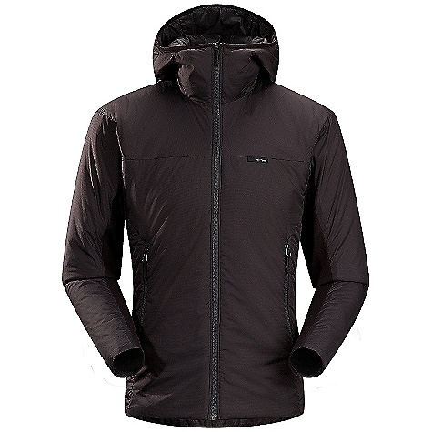 Ski On Sale. Free Shipping. Arcteryx Men's Aphix Hoody DECENT FEATURES of the Arcteryx Men's Aphix Hoody 100% nylon Colbri fabric is lightweight yet durable DWR finish sheds moisture Helius Comp stretch side panels give low profile fit and ventilation 80g of Coreloft insulation provides good warmth Trim scuba hood with no adjustability Insulated hand pockets We are not able to ship Arcteryx products outside the US because of that other thing. We are not able to ship Arcteryx products outside the US because of that other thing. We are not able to ship Arcteryx products outside the US because of that other thing. The SPECS Weight: M: 14.3 oz / 484 g Fit: Athletic Colbri - 100% Nylon Helius Comp Coreloft 80 insulation (80 g/m2) This product can only be shipped within the United States. Please don't hate us. - $198.99