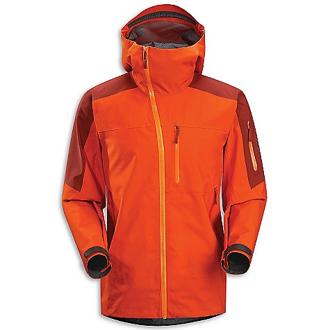 Ski On Sale. Free Shipping. Arcteryx Men's Sidewinder SV Jacket DECENT FEATURES of the Arcteryx Men's Sidewinder SV Jacket Waterproof Snow-shedding Windproof Breathable Durable Highly durable Micro-seam allowance (1.6 mm) reduces bulk and weight Tiny Gore seam tape (13 mm) Laminated high-strength hanger loop DWR finish (Durable Water Repellent) helps bead water from fabric surface Fully seam-sealed for waterproofness Gore-Tex three-layer construction Taped seams for added weatherproofness Generous cut for easy layering One-hand adjustable drawcords Anatomical shaping for fit and comfort Gender specific patterning Articulated patterning for unrestricted mobility Articulated elbows No-lift gusseted underarms Laminated brim Glove-friendly hood adjusters Helmet compatible Drop Hood Stealth hood adjusters Tall collar Laminated chin guard Water Tight external zippers Molded zipper garages Pit zippers for easy venting Water Tight contoured Sidewinder front zip-the zip contours to one side for added comfort Corded zipper-pulls reduce noise and are easy to grab Laminated die-cut Velcro cuff adjusters reduce bulk, and won't catch or tear off Drop back hem Adjustable hem drawcord Sleeve pocket with Water Tight zip Chest pocket with laminated zip Two internal laminated pockets Two hand pockets with Water Tight zippers Our Water Tight zippers are highly water resistant, but not waterproof We do not recommend keeping items in your pockets that may be damaged by moisture Fully reinforced for maximum durability Powder skirt with gripper elastic and snap closure Recco reflector Laminated Opti Radio pocket Lift pass loop Slide and lock snap closures on powder skirt enable jacket to be fastened to specific ski pants to prevent snow entry Embroidered logo Non-chafing label Adjustable elastic waist drawcord Exceptionally durable Gore-Tex Pro withstands daily winter use Water Tight pit zippers vent heat Storm Hood fits over helmets Hand pockets, chest pocket, sleeve pocket, interior mesh dump pocket Recon reflector aids emergency location powder skirt with stretch panel and Slide'n Loc snaps Activity: Big Mountain Skiing We are not able to ship Arcteryx products outside the US because of that other thing. We are not able to ship Arcteryx products outside the US because of that other thing. We are not able to ship Arcteryx products outside the US because of that other thing. The SPECS Weight: (M): 20.3 oz / 577 g Fit: Expedition with e3D, hip length Fabric: N80p-X Gore-Tex Pro 3L Care Instructions Machine wash in warm water Double rinse Do not use fabric softener Tumble dry on low heat Do not iron This product can only be shipped within the United States. Please don't hate us. - $486.99