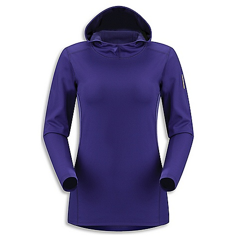 "Ski Free Shipping. Arcteryx Women's Phase AR Hoody DECENT FEATURES of the Arcteryx Women's Phase AR Hoody Moisture-wicking Breathable Durable Quick-drying Minimal odor retention Hydrophobic materials will not absorb water Mechanical stretch textile for unrestricted mobility ""fabric is inherently stretchy without the use of Spandex fibres, making it more durable Breathable fabric sections under arms Anatomical shaping for fit and comfort Gusseted underarms Scuba hood Crew neck Long sleeves Non-chafing label Phasic fabric has soft touch Composite construction reduces bulk, improves thermal regulation Flatlocked seams improve next-to-skin comfort Encapsulated silver ions reduce odors UPF 50 + Activity: All Around We are not able to ship Arcteryx products outside the US because of that other thing. We are not able to ship Arcteryx products outside the US because of that other thing. We are not able to ship Arcteryx products outside the US because of that other thing. The SPECS Weight: (M): 5.5 oz / 156 g Fit: Next-to-skin Fabric: Phasic AR (body), Phasic SL (underarm) Care Instructions Machine wash in cold water Hang to dry Do not use fabric softener Do not iron This product can only be shipped within the United States. Please don't hate us. - $88.95"