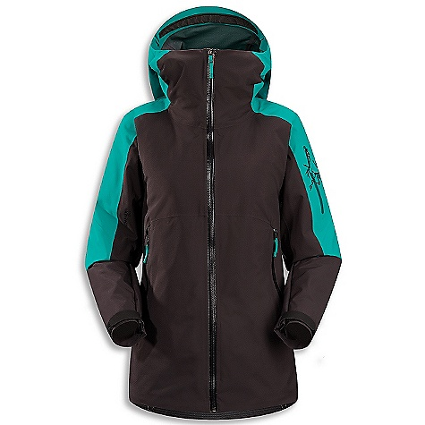 Ski On Sale. Free Shipping. Arcteryx Women's Kamoda Jacket DECENT FEATURES of the Arcteryx Women's Kamoda Jacket Supple Gore-Tex Pro is flexible, windproof, waterproof, breathable Coreloft Compact has high warmth to weight ratio, slim profile Mesh Powder Guard vents prevent snow entry Storm Hood fits helmet internal mesh dump pocket, insulated hand pockets, internal media pocket Recco reflector aids emergency location powder skirt with stretch panels has Slide'n Loc snap system Lightly insulated Durable Micro-seam allowance (1.6 mm) reduces bulk and weight DWR finish (Durable Water Repellent) helps bead water from fabric surface Gore-Tex three-layer construction Tiny GORE seam tape (13 mm and 19 mm) Women's specific design and fit Articulated elbows No-lift gusseted underarms Laminated brim Stealth hood adjusters Laminated chin guard WaterTight full length front zip Zipper garages to protect zipper closure from snow and rain Webbing zipper pulls Easy-sliding sleeve lining won't bind on other layers Laminated die-cut Velcro cuff adjusters with elastic Adjustable hem drawcord Sleeve pocket with WaterTight zip Two high-volume hand pockets with zips Internal chest pocket with zip Internal oversize mesh pocket Powder skirt with gripper elastic and snap closure Lift pass loop Slide and lock snap closures on powder skirt enable jacket to be fastened to specific ski pants to prevent snow entry Hidden Recco reflector Activity: Big Mountain Skiing We are not able to ship Arcteryx products outside the US because of that other thing. We are not able to ship Arcteryx products outside the US because of that other thing. We are not able to ship Arcteryx products outside the US because of that other thing. The SPECS Fabric: N70p Gore-Tex Pro 3L Coreloft 80 gm/m2 insulation Coreline liner fabric Weight: (M): 26.6 oz / 753 g Fit: Relaxed Care Instructions Machine wash in warm water Do not use fabric softener Front load washing machine recommended (use a mesh bag for top loading machines) Tumble dry on low heat Do not iron This product can only be shipped within the United States. Please don't hate us. - $486.99