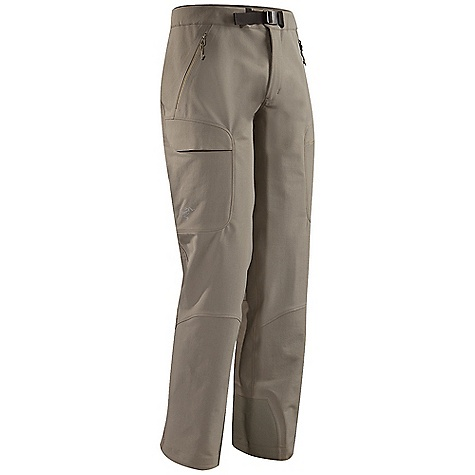 Ski Free Shipping. Arcteryx Men's Gamma Guide Pant DECENT FEATURES of the Arcteryx Men's Gamma Guide Pant Burly Double Weave fabric has good stretch, excellent durability and good wind resistance DWR finish Soft, chamois-lined waist with adjustable webbing belt and snap closure gusseted crotch Two zippered hand pockets and two flapped, large volume thigh pockets, one zippered, one with Velcro closure Keprotec reinforced instep patch protects from crampons and edges Hem width fits over boots but static hem cord can be cinched to secure pant close to boot We are not able to ship Arcteryx products outside the US because of that other thing. We are not able to ship Arcteryx products outside the US because of that other thing. We are not able to ship Arcteryx products outside the US because of that other thing. The SPECS Weight: M: 15.8 oz / 535 g Fit: Athletic, boot cut Burly Double Weave - 46% nylon, 46% polyester, 8% spandex Keprote This product can only be shipped within the United States. Please don't hate us. - $234.95