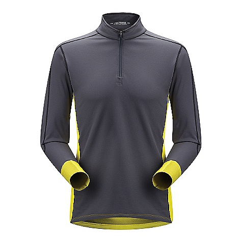 Free Shipping. Arcteryx Men's Phase SV LS Comp DECENT FEATURES of the Arcteryx Men's Phase SV Long Sleeve Comp Moisture-wicking Breathable Quick-drying Minimal odor retention Antimicrobial, odor-control fabric treatment Hydrophobic materials will not absorb water Mechanical stretch textile for unrestricted mobility-fabric is inherently stretchy without the use of Spandex fibres, making it more durable Flat locked seams lie flat for added comfort Anatomical shaping for fit and comfort Gusseted underarms Short polo neck collar Locking zipper pulls Roll-over cuffs keep hands warm without the need for gloves Long sleeves Drop back hem Phasic fabric has soft touch Composite construction reduces bulk, improves thermal regulation Flat locked seams improve next-to-skin comfort Encapsulated silver ions reduce odors UPF 50 + Activity: All Around We are not able to ship Arcteryx products outside the US because of that other thing. The SPECS Weight: 6.9 oz / 196 g Fit: Trim, Upper hip length Fabric: Phasic SV with Phasic AR Care Instructions Machine wash in cold water Hang to dry Do not use fabric softener Do not iron This product can only be shipped within the United States. Please don't hate us. - $108.95
