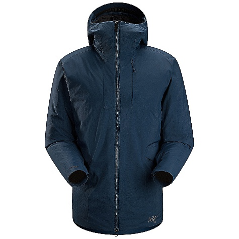 On Sale. Free Shipping. Arcteryx Men's Khuno Parka DECENT FEATURES of the Arcteryx Men's Khuno Parka Moisture-resistant outer face fabric Windproof Breathable Insulated Lightweight Micro-seam allowance (1.6 mm) reduces bulk and weight DWR finish (Durable Water Repellent) helps bead water from fabric surface Non-quilted, laminated construction eliminates cold spots Gusseted underarms Adjustable hood drawcords Insulated hood Chin guard with brushed microsuede facing for added comfort Insulated collar Full front zip with wind flap Laminated die-cut Velcro cuff adjusters reduce bulk, and won't catch or tear off Full seat coverage Two high-volume hand pockets with flaps Hidden drop pocket with Water Tight zipper Two internal chest pockets Windstopper fabric blocks wind and sheds weather Coreloft insulation has high warmth to weight ratio Insulated hood with insulated collar gives complete protection Non-quilted external construction eliminates cold spots Activity: All Around We are not able to ship Arcteryx products outside the US because of that other thing. We are not able to ship Arcteryx products outside the US because of that other thing. We are not able to ship Arcteryx products outside the US because of that other thing. The SPECS Weight: (M): 28.8 oz / 816 g Fit: Relaxed, Thigh length Fabric: N80p-X Windstopper 2L Coreloft 140g insulation (140 g / m2) Coreloft 80g insulation (80 g / m2) Care Instructions Machine wash in warm water Do not use fabric softener Front load washing machine recommended (use a mesh bag for top loading machines) Tumble dry on low heat Do not iron This product can only be shipped within the United States. Please don't hate us. - $336.99