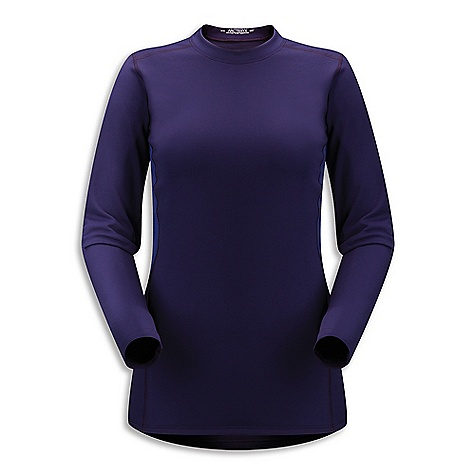 On Sale. Free Shipping. Arcteryx Women's Phase SV LS Crew DECENT FEATURES of the Arcteryx Women's Phase SV Long Sleeve Crew Moisture-wicking Breathable Durable Quick-drying Minimal odor retention Hydrophobic materials will not absorb water Mechanical stretch textile for unrestricted mobility-fabric is inherently stretchy without the use of Spandex fibres, making it more durable Flatlocked seams lie flat for added comfort Breathable fabric sections under arms Anatomical shaping for fit and comfort Gusseted underarms Crew neck Long sleeves Non-chafing label Phasic fabric has soft touch Composite construction reduces bulk, improves thermal regulation Encapsulated silver ions reduce odors UPF 50 + Activity: All Around We are not able to ship Arcteryx products outside the US because of that other thing. We are not able to ship Arcteryx products outside the US because of that other thing. We are not able to ship Arcteryx products outside the US because of that other thing. The SPECS Weight: (M): 4.8 oz / 137 g Fit: Next-to-skin Fabric: Phasic SV (body) Phasic AR (underarm) Care Instructions Machine wash in cold water Hang to dry Do not use fabric softener Do not iron This product can only be shipped within the United States. Please don't hate us. - $58.99