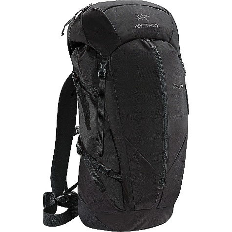 Camp and Hike Free Shipping. Arcteryx Kea 30 Backpack DECENT FEATURES of the Arcteryx Kea 30 Backpack HDFB (high-density foam back) suspension Twin 6005-T6 extruded aluminum M-bar stays Fixed top lid with two zippered pockets with key clip Extendable collar with drawcord for additional capacity Top loading with a top grab handle Dual density anatomically shaped shoulder straps Adjustable position sternum strap Four compression straps-two on each side Reinforced in high wear areas for greater durability Dual P'ax ice tool carry systems Hydration bladder compatible via the Hydroport and Hydro Tube Clip Skis can be carried in an A-frame configuration 40 mm / 1.5 inches webbing hipbelt Padded bottom increases durability and maintains form We are not able to ship Arcteryx products outside the US because of that other thing. We are not able to ship Arcteryx products outside the US because of that other thing. We are not able to ship Arcteryx products outside the US because of that other thing. The SPECS 420D nylon 6.6 plain weave 210D nylon 6.6 ripstop 6005-T6 extruded aluminum M-bar stays EV 50 Dual density foam Stretch woven fabric The SPECS for Short/Reg Volume: 1708 cubic inches / 28 liter Weight: 47 oz / 1330 g Extend To: 1836 cubic inches / 30 liter The SPECS for Reg/Tall Volume: 1830 cubic inches / 30 liter Weight: 50 oz / 1421 g Extend To: 1952 cubic inches / 32 liter This product can only be shipped within the United States. Please don't hate us. - $198.95