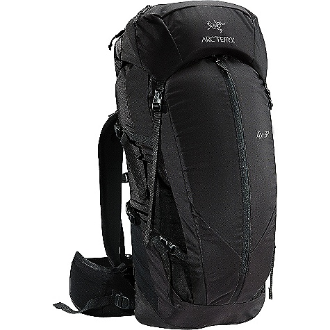 Camp and Hike Free Shipping. Arcteryx Kea 37 Backpack FEATURES of the Arcteryx Kata 37 Backpack All around day trip/light overnight volume pack Primary Use: Gear intensive single days/light overnight 420D nylon 6,6 plain weave 210D nylon 6,6 ripstop 6005-T6 extruded aluminum M-bar stays EV 50, Dual density foam Stretch woven fabric Formerly the Kata pack Twin removable aluminum stays for durable support Reinforced high wear areas Kangaroo pocket with top compression strap and snap closure Stretch-mesh stash pockets on hipbelt Accessory pocket Hydration bladder clip Dual-density shoulder straps Thermoformed hipbelt Extendable collar with drawcord for additional capacity Fixed top lid with two zippered compartments Four compression straps-two on each side P'ax one-hand axe attachment system-allows for one-handed access to tools - $199.00