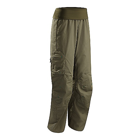 Hunting Free Shipping. Arcteryx Women's Calyx Pant DECENT FEATURES of the Arcteryx Women's Calyx Pant Durable cotton/nylon canvas fabric Articulated knees, gusseted crotch; knit fold-over waistband Reinforced knees; elastic drawcord hem Two back patch pockets, side cargo pocket with zip and volume darts Embroidered Bird logo We are not able to ship Arcteryx products outside the US because of that other thing. We are not able to ship Arcteryx products outside the US because of that other thing. We are not able to ship Arcteryx products outside the US because of that other thing. We are not able to ship Arcteryx products outside the US because of that other thing. The SPECS Weight: M: 12 oz / 339.8 g Fit: Relaxed Fabric: 8.5oz Cotton Nylon Canvas - 68%cotton, 32% nylon canvas, Tanica - 79% polyester, 21% spandex This product can only be shipped within the United States. Please don't hate us. - $98.95
