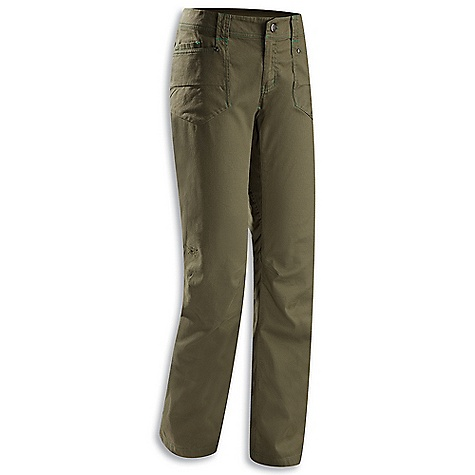Free Shipping. Arcteryx Women's Cheema Pant DECENT FEATURES of the Arcteryx Women's Cheema Pant Garment washed, stretch cotton canvas with soft, brushed face Gentle articulation offers freedom of movement Two hand pockets and two back pockets with split seam detailing We are not able to ship Arcteryx products outside the US because of that other thing. We are not able to ship Arcteryx products outside the US because of that other thing. We are not able to ship Arcteryx products outside the US because of that other thing. We are not able to ship Arcteryx products outside the US because of that other thing. The SPECS Weight: 14.5 oz / 412 g 8.5 oz cotton canvas with 1% spandex Fit: Trim This product can only be shipped within the United States. Please don't hate us. - $98.95