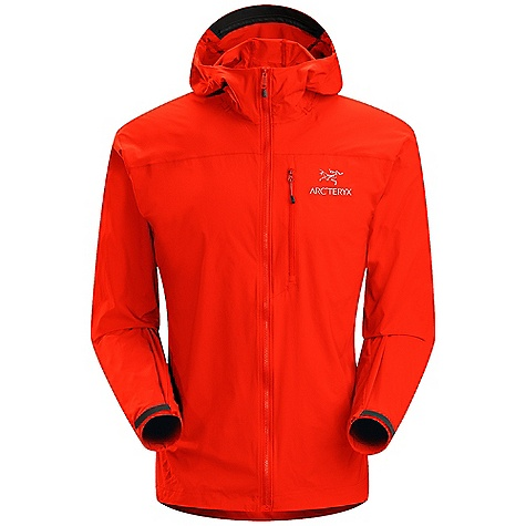 Free Shipping. Arcteryx Men's Squamish Hoody DECENT FEATURES of the Arcteryx Men's Squamish Hoody Very lightweight yet durable mini ripstop textile with mechanical stretch Low profile Storm Hood with soft brim and drawcord 3 Vislon front zipper with wind flap Articulated elbows and gusseted underarms One zippered chest pocket stows jacket We are not able to ship Arcteryx products outside the US because of that other thing. We are not able to ship Arcteryx products outside the US because of that other thing. We are not able to ship Arcteryx products outside the US because of that other thing. We are not able to ship Arcteryx products outside the US because of that other thing. The SPECS Weight: M: 4.3 oz / 146 g Fit: Athletic, hip length Luminara - 100% nylon This product can only be shipped within the United States. Please don't hate us. - $158.95