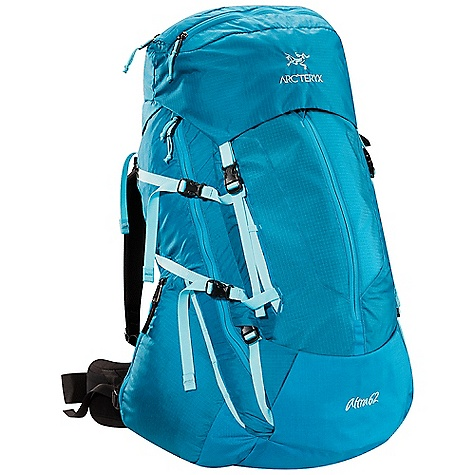 Free Shipping. Arcteryx Women's Altra 62 LT Pack DECENT FEATURES of the Arcteryx Women's Altra 62 LT Pack C2 (Composite Construction) system Twin 6005 T-6 extruded aluminium M-bar stays Double chamber top lid for easy gear organization and access Extendable top lid and extension collar for larger loads Hydration sleeve external access point Double-pull, easy open collar cordlock systems GridLock shoulder straps adjust for both height and width Back panel sits away from back and provides ventilation U-shaped zipper for easy access Large front kangaroo pocket for frequently used items Dual P'ax ice tool carry systems Wingman one-handed easy access pockets Rotating Load Transfer Disc distributes load to hips Stretch mesh waist belt pockets We are not able to ship Arcteryx products outside the US because of that other thing. We are not able to ship Arcteryx products outside the US because of that other thing. We are not able to ship Arcteryx products outside the US because of that other thing. The SPECS 210D nylon 6.6 ripstop 500D ATY nylon 6.6 silicone treated with PU 100D mini ripstop 6005-T6 extruded aluminum M-bar stays HD 80 foam Hypercell foam Spacermesh The SPECS for Short/Reg Volume: 3782 cubic inches / 62 liter Weight: 74 oz / 2114 g Extend To: 4209 cubic inches / 69 liter The SPECS for Reg/Tall Volume: 3965 cubic inches / 65 liter Weight: 77 oz / 2175 g Extend To: 4392 cubic inches / 72 liter This product can only be shipped within the United States. Please don't hate us. - $448.95