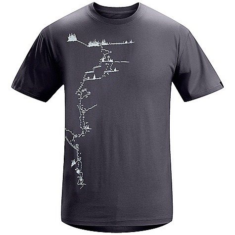 Arcteryx Men's Route A+ SS T-Shirt DECENT FEATURES of the Arcteryx Men's Route A+ Short Sleeve T-Shirt Crew neck We are not able to ship Arcteryx products outside the US because of that other thing. We are not able to ship Arcteryx products outside the US because of that other thing. We are not able to ship Arcteryx products outside the US because of that other thing. The SPECS Fit: Athletic Weight: M: 5.6 oz / 159 g 100% cotton This product can only be shipped within the United States. Please don't hate us. - $38.95