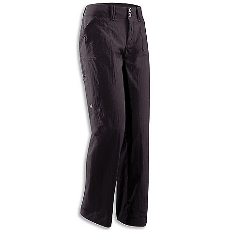 Free Shipping. Arcteryx Women's Parapet Pant DECENT FEATURES of the Arcteryx Women's Parapet Pant Breathable Lightweight Durable Quick-drying Articulated patterning for unrestricted mobility Articulated knees and seat Gusseted crotch Wide hemline Two hand pockets Two rear pockets Zippered cargo pocket Embroidered logo Belt loops Snap waist closure Wide, comfortable waistband We are not able to ship Arcteryx products outside the US because of that other thing. We are not able to ship Arcteryx products outside the US because of that other thing. We are not able to ship Arcteryx products outside the US because of that other thing. We are not able to ship Arcteryx products outside the US because of that other thing. The SPECS TerraTex Fabric-94% nylon, 6% spandex blend. Lightweight, breathable, stretchy, quick drying plain weave textile 81 cm inseam (32 inch) This product can only be shipped within the United States. Please don't hate us. - $98.95