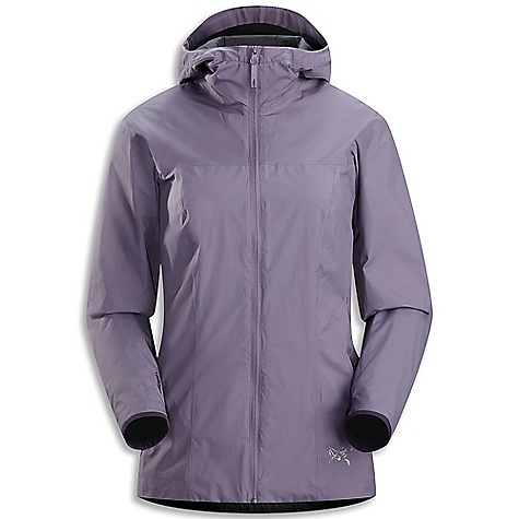 Free Shipping. Arcteryx Women's Solano Jacket DECENT FEATURES of the Arcteryx Women's Solano Jacket Refined fit, additional length, spacious hood with brim Windstopper fabric blocks wind; additional length adds versatility Lined relaxed Storm Hood with visor; lined sleeves Articulated elbows; no-lift gusset underarms Two hand pockets We are not able to ship Arcteryx products outside the US because of that other thing. We are not able to ship Arcteryx products outside the US because of that other thing. We are not able to ship Arcteryx products outside the US because of that other thing. We are not able to ship Arcteryx products outside the US because of that other thing. The SPECS Weight: (M): 11 oz / 311.8 g Fit: Athletic P50n Windstopper 2L This product can only be shipped within the United States. Please don't hate us. - $224.95
