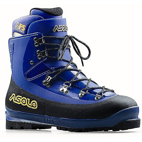 Features of the Asolo AFS Evoluzione Boot Shell: PU Inner Boot: Velveteen Asoframe: PU Anotomic Footbed: AFS Sole: Vibram nilgiri Dual-color Fit: MM Weight: 1/2 pair: 1.230 grams - $306.99